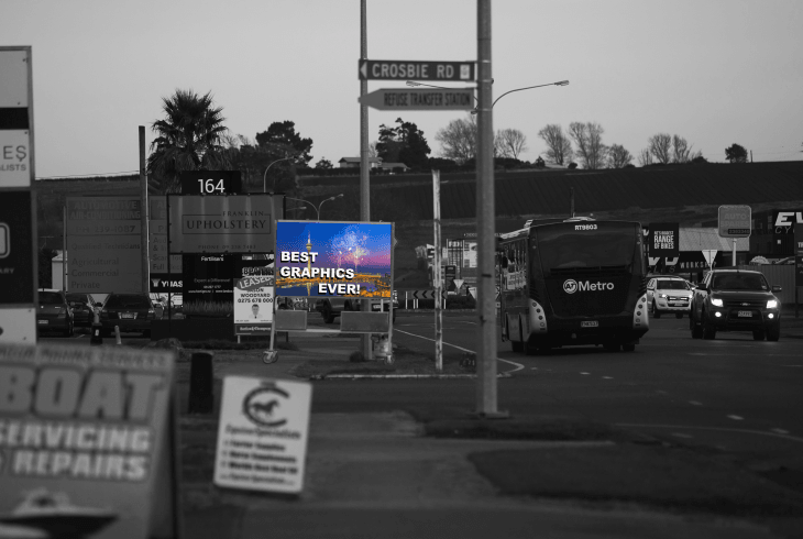 Digital Signs Portable Road 3