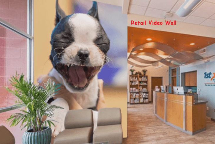 Make your clients hearts melt with your video wall