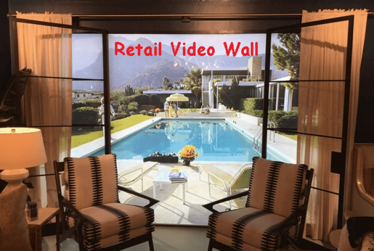 Retail Full Video Wall